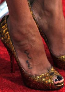 Zoe Saldana Tattoos