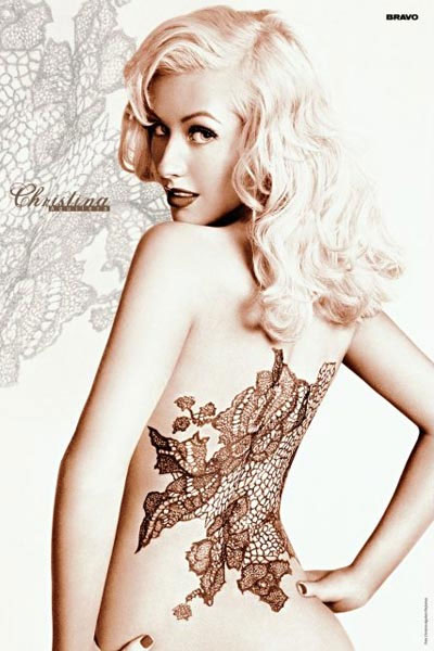 Christina Aguilera Tattoos