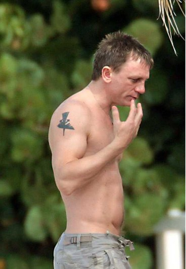 Daniel Craig Tattoos
