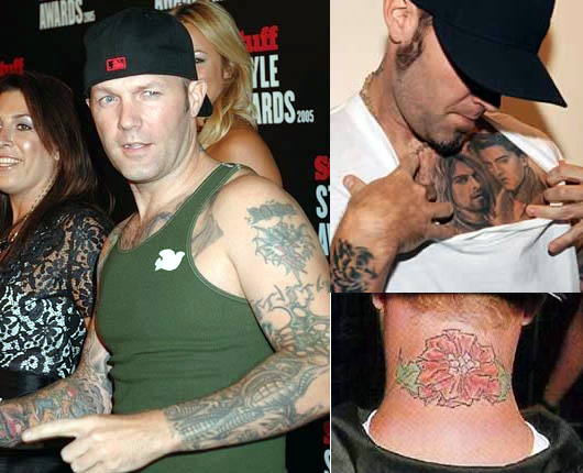 Fred Durst Tattoos