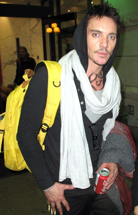 Jonathan Rhys Meyers Tattoos