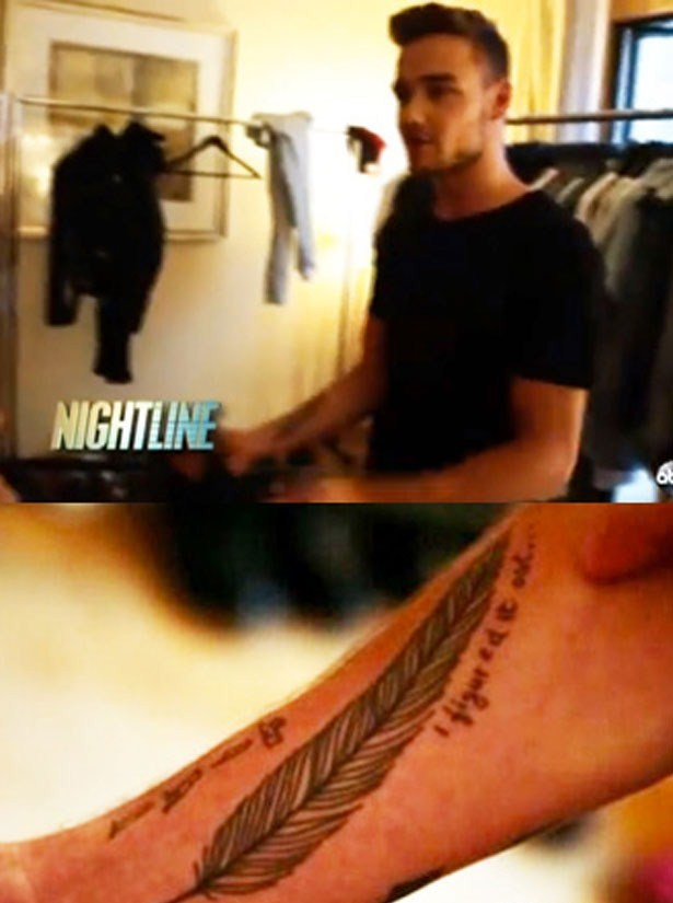 Liam Payne Tattoos