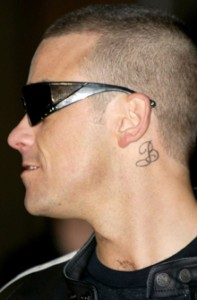 Robbie Williams tattoos