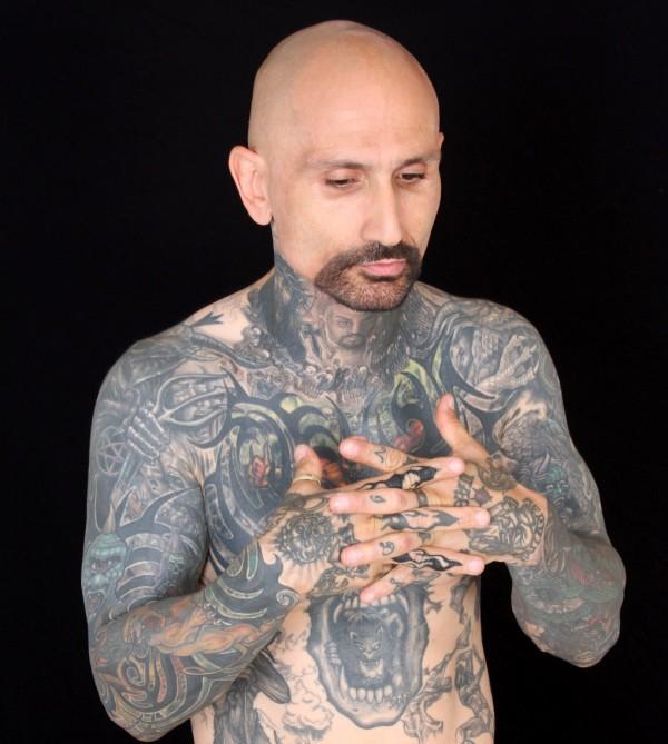 3D татуировки  реальность в фантастическом дизайне