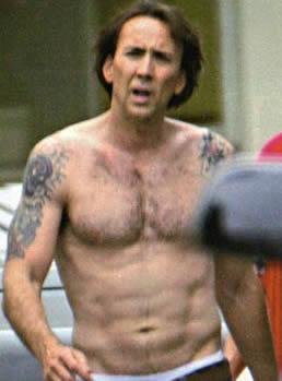 Nicholas Cage Tattoos Celebrities Tattooed