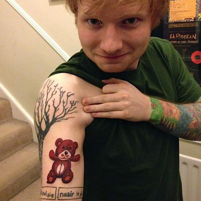 Ed Sheeran tatoo
