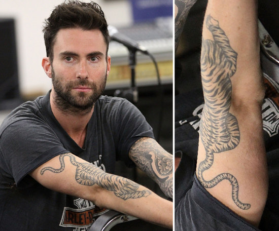 Adam Levine Tattoos | CelebritiesTattooed.com