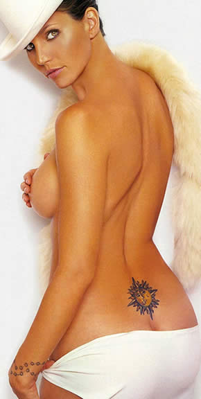 Charisma Carpenter Tattoos