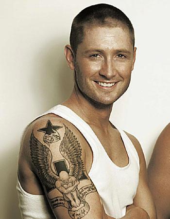 Michael Clarke Tattoos