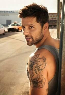 Ricky Martin Tattoos