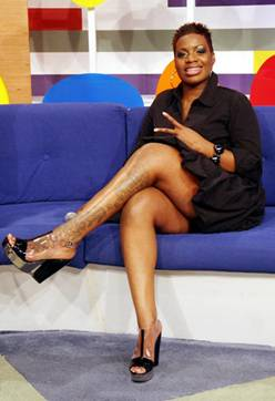 Fantasia Barrino Tattoos