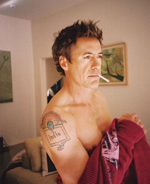 Robert Downey Jr. Tattoos
