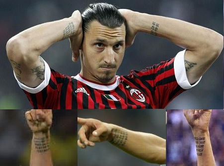 Zlatan Ibrahimovic Tattoos