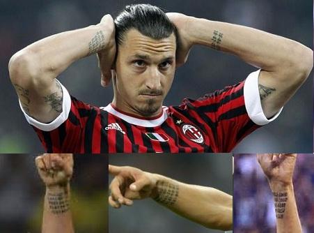 Zlatan Ibrahimovic Tattoos | CelebritiesTattooed.com