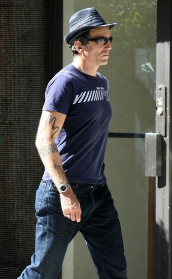 Daniel Day-Lewis tattoos