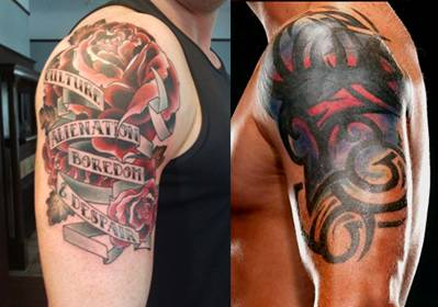Wade Barrett Tattoos