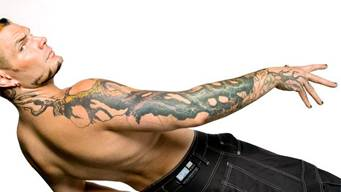 Jeff Hardy Tattoos