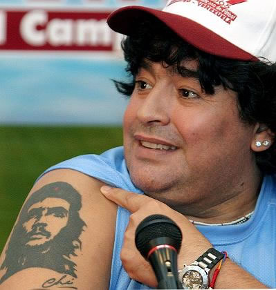 Diego Maradona tattoos