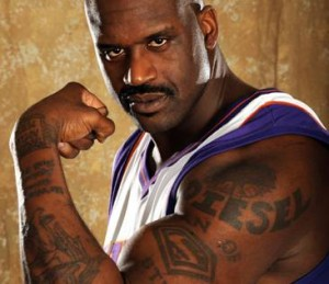 Shaquille O'Neal Tattoos