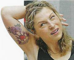 Tatum O'Neal Tattoos