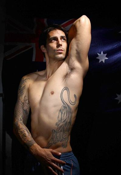 Mitchell Johnson Tattoos
