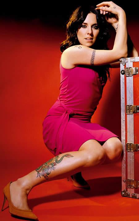 MEL C (Melanie Chisholm) Tattoos