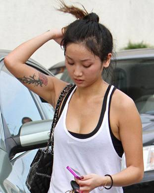 Brenda Song Tattoos
