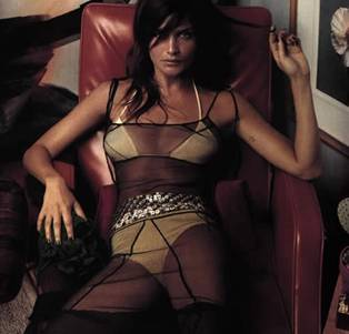 Helena Christensen Tattoos