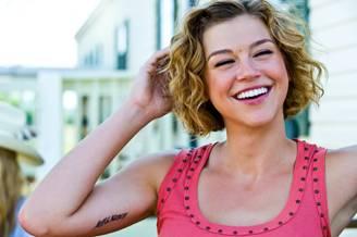 adrianne palicki tattoos celebrities tattooed
