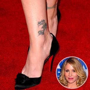 Christina Applegate Tattoos