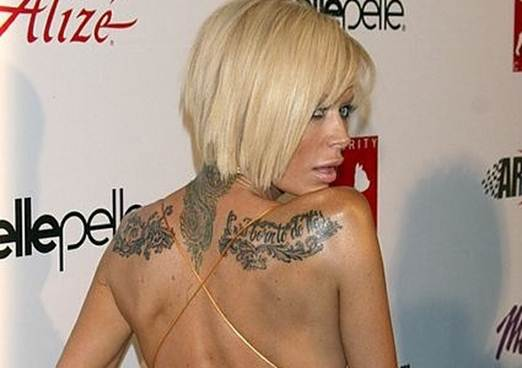 Jenna Jameson Tattoos