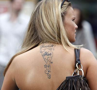 Kerry Katona Tattoos