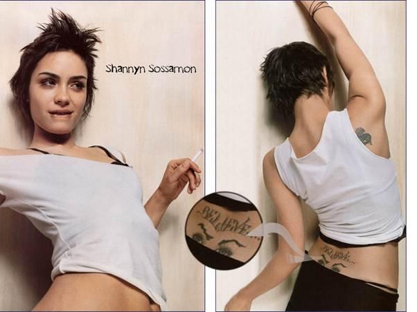 Shannyn Sossamon Tattoos