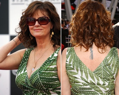 Susan Sarandon Tattoos