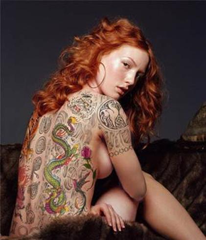 Alicia Witt Tattoos