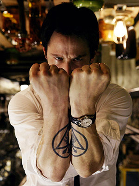 Keanu Reeves Tattoos