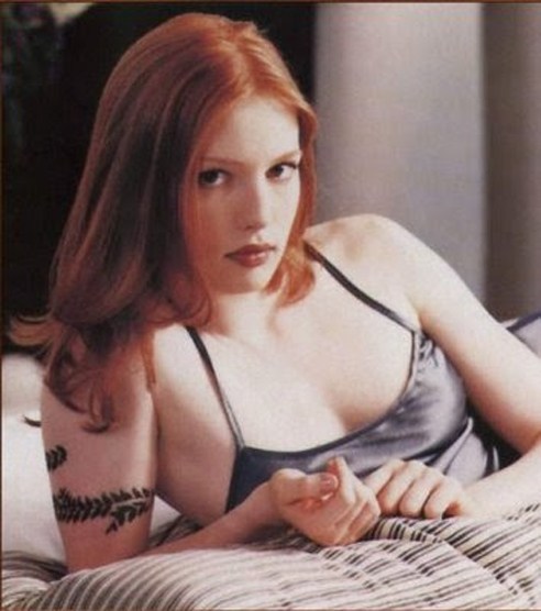 Alicia Witt Tattoos