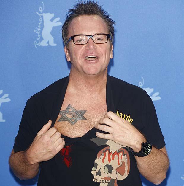 tom arnold tattoos