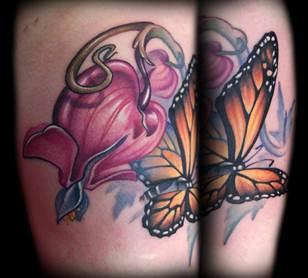 Anastasia Davydova Tattoos
