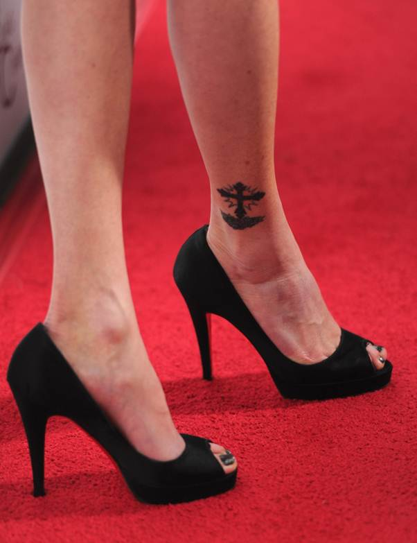 Shannen Doherty Tattoos