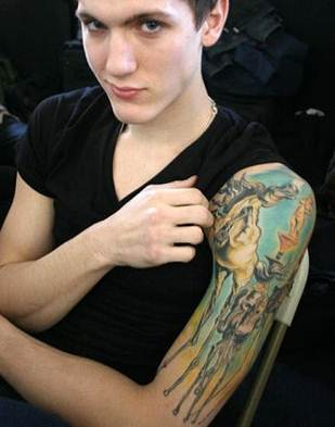 Tyler Riggs Tattoos
