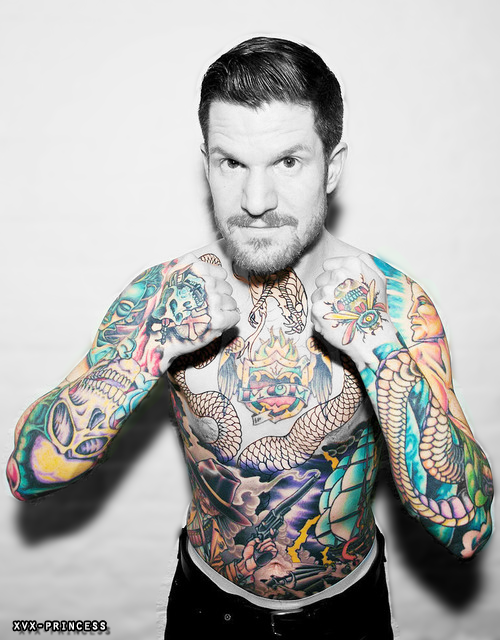 Andrew John 'Andy' Hurley Tattoos