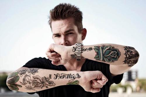 Mark Sayers McGrath tattoos