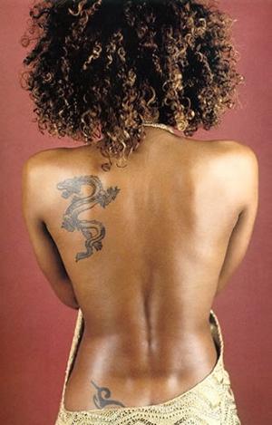 Mel B Tattoos