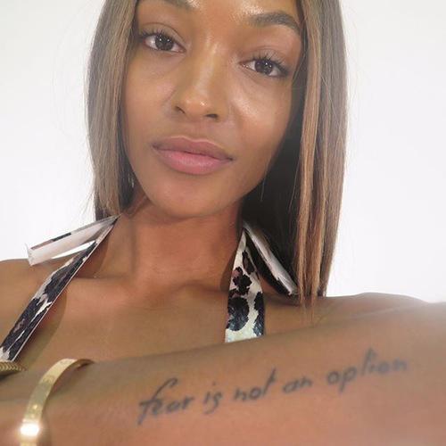 Jordan Dunn Tattoos