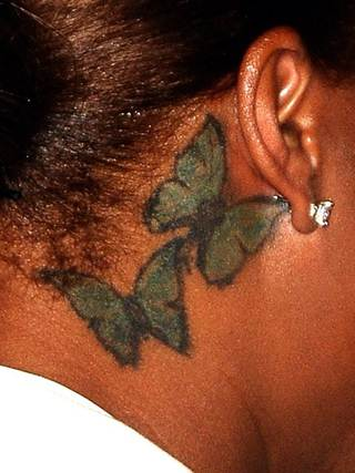 Queen Latifa Tattoos