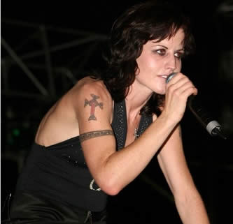 Dolores O'Riordan Tattoos