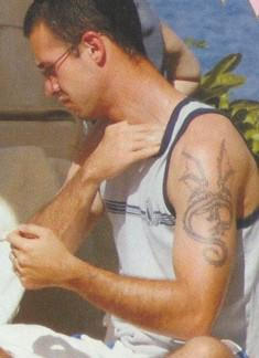 Freddie Prinze Jr tattoos