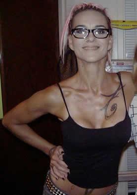 Susan Powter tattoos