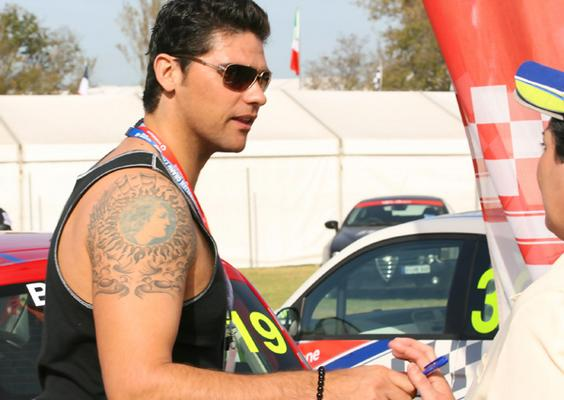 Mark Philippoussis Tattoos